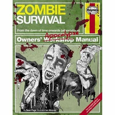 New Haynes Science Fiction Manual Zombie Survival H5473 Top Quality Product