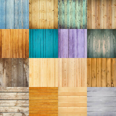 Wood Plank Board Photography Backdrop Clothes Jewelry Food Photo Background Prop