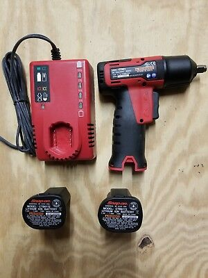 """Snap On Ct661 7.2 Volt 3.8"""" Cordless Impact Wrench Mint  98883-1 Eb"""