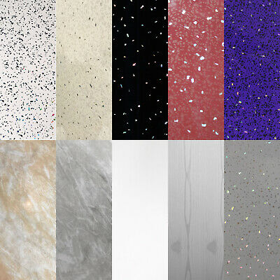 White, Black, Red or Purple Sparkle Bathroom PVC Cladding Shower Wet Wall Panels