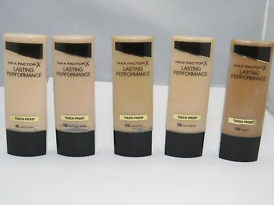Max Factor Lasting Performance Foundation 35ml Choose from 9 Shades