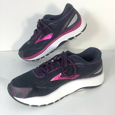 1165a9c60a0 Brooks Dyad Womens Size 7.5 2E Extra Wide Sneakers Running Marathon Shoes  Purple