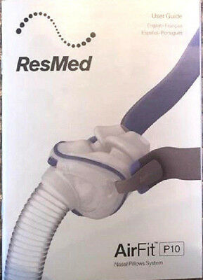 NEW ResMed CPAP AirFit P10 User Guide Manual Booklet