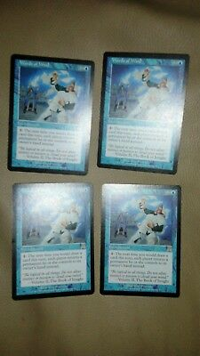 Mtg Words Of Wind X 4 NM Onslaught