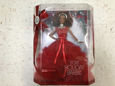 Barbie 2018 Holiday Signature Collector Doll - African American Nikki