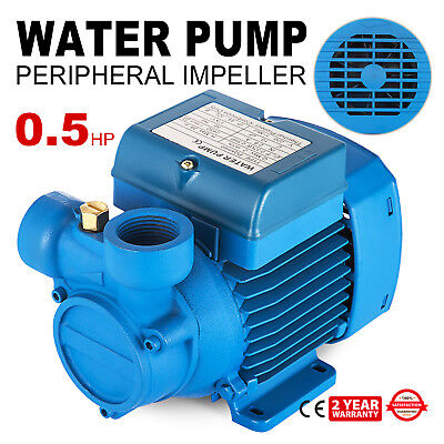 Electric Water Pump with peripheral impeller 2850 RPM PQAm 60 Centrifugal pump