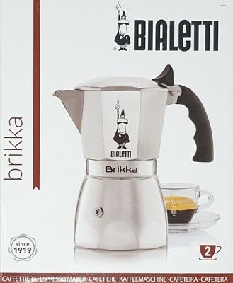 - HANDLE DISCONNECTED - Bialetti Brikka Espresso Maker 2 Cups