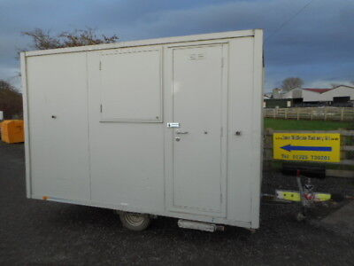 12' anti vandal towable welfare toilet generator site office £4750 + VAT