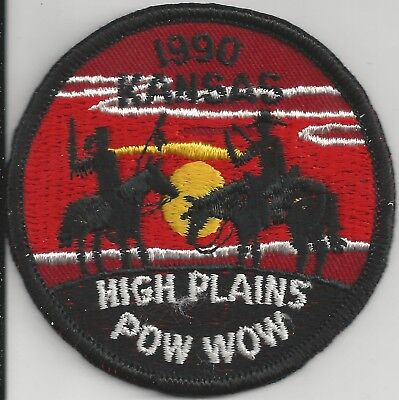 1990 Royal Rangers Kansas District High Plains Pow Wow Patch