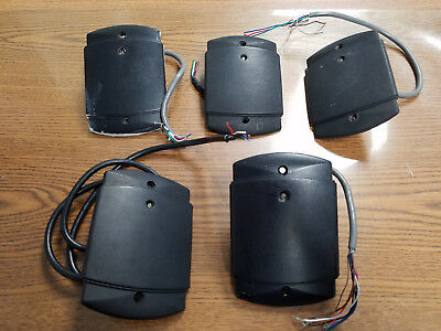 LOT OF 5 Keri Systems MS5000X Card / Keyfob Reader Tiger Access Systems Working!