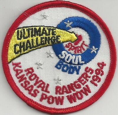 1994 Royal Rangers Kansas District Ultimate Challenge Pow Wow Patch