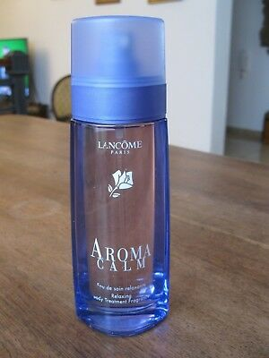 Lancome AROMA CALM 3.3 Oz 100ml Body Treatment Fragrance Eau de Relaxing France