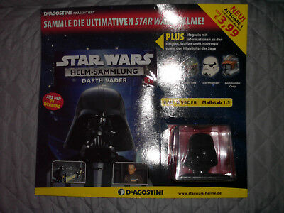 Star Wars Helm Sammlung Nr. 1, Darth Vader, OVP