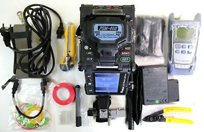 FUJIKURA FSM-60S FIBER FUSION SPLICER with Fujikura CT-05 Cleaver ARC 21280