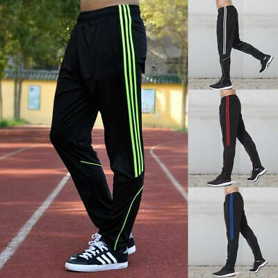 360c4afd7430 New Mens Tracksuit Bottoms Striped Fit Casual Gym Jogging Joggers Sweat  Pants UK