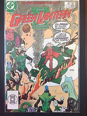 "Green Lantern (DC 1987)   #223   ""Origin of Guardians ""   Gil Kane   VF"