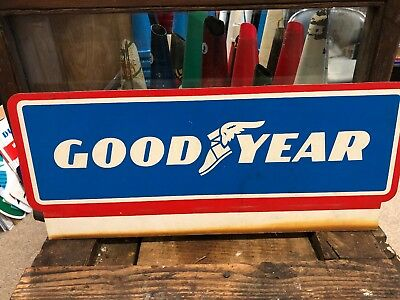 Goodyear Tyre Genuine Plastic Sign