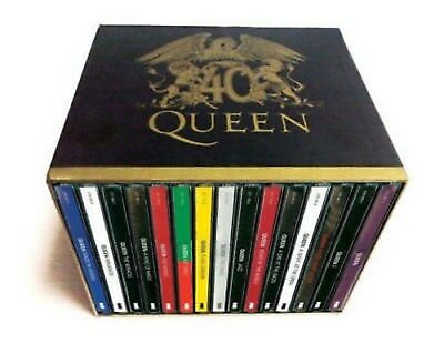 Queen 40th Anniversary 30 CD Box Set Booklets Full Collection New Sealed US Ship
