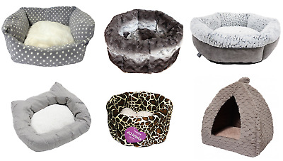 Rosewood Cat Kitten Puppy Beds Luxury Pet Bed Igloo Cave Reduced Special Offer
