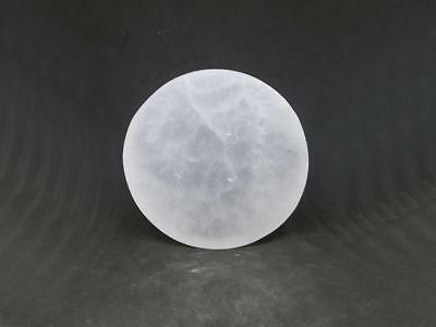 Selenite Circle Crystal Charging and Cleansing Plate (UK Supplier)