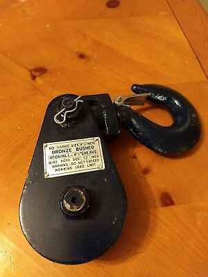 4 Ton Sheave Bronze Bushed Snatch Block - Hook &Tow, Winching, Recovery, Towing