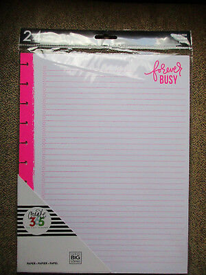 New MAMBI Create 365: The Big Happy Planner, Paper, 24 sheet pack, 3 designs