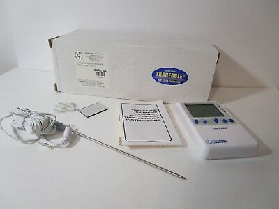 Traceable Extreme-Accuracy Standards Thermometer 0.00*C, New,  FREE SHIPPING!