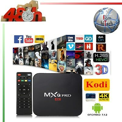 Tv Q-Box Android Amlogic Kodi 7.1 2Gb Ram Usb Smart Tv Wifi 4K M8S Mxq H96 Uhd