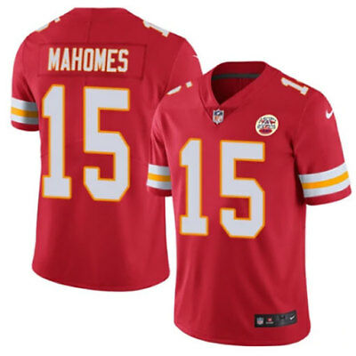 Patrick Mahomes #15 Leighton Kansas City Chiefs Football stitched Jersey NEW