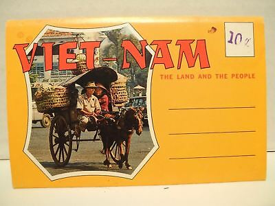 Vintage 1960's Viet-nam The land and The People Souvenir photo set from Vietnam