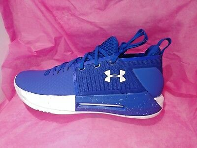 21dd0b03dd2b Mens Under Armour Shoes UA Drive 4 Low Royal Blue White Size 10.5 NEW IN