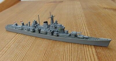 1/1250 missile cruiser USS CANBERRA CAG-2 with Terrier starter 1956 Hansa 34