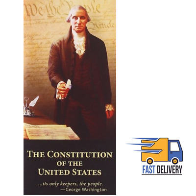 The Constitution Of United States Pocket Paperback Declaration Independence