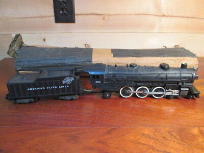 American Flyer 283 C&NW 4-6-2 pacific steam engine and tender w/ wrap