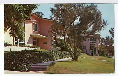 Late 1950s Johnson Hall, Whittier College, Whittier, CA Postcard