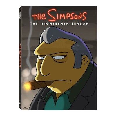 Simpsons: Season 18 4-Disc DVD Set New & Sealed Free Shipping Included!