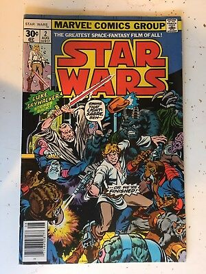 Star Wars (1977 series) #2 in Very Fine condition. Marvel comics $20 Today Only!