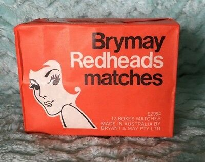 Vintage Collectable Pkts Matches Brymay