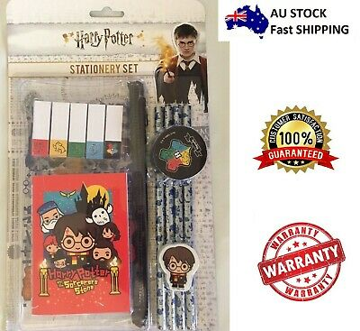 Harry Potter Stationery 6 Piece Set Perfect For School or Home Perfect Gift