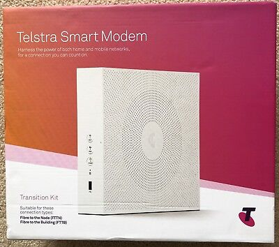 Telstra Smart Modem DJA0230 FTTN/FTTB Brand New In Box RRP $216