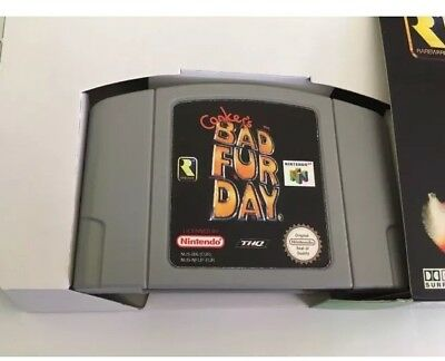 N64 Conkers Bad Fur Day Brand New Game UK Pal Version Tested Bargain No Box