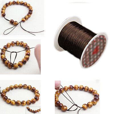 Rope String Jewelry Making Strong Elastic Stretchy Beading Thread Cord Bracelet