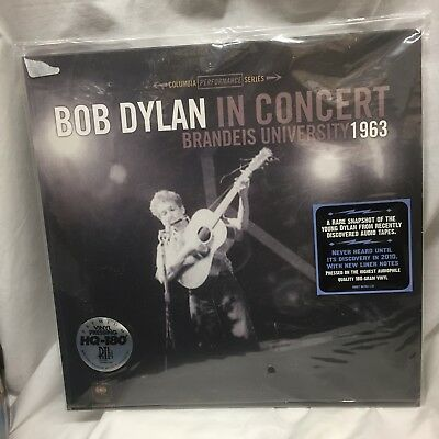 BOB DYLAN MONO LP Vinyl 1963 Live at BRANDEIS UNIVERSITY Sealed NEW