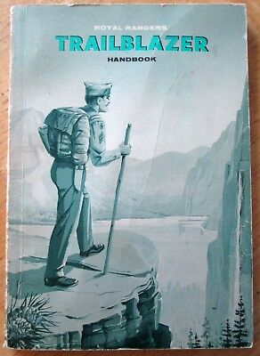 Vintage 1962 Royal Rangers Trailblazer Handbook Assemblies Of God Boys Youth Org