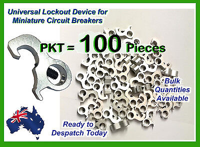 RCD MCB Dog Circuit Breaker Lockout/ Lock Off Device For Most Circuit Boards