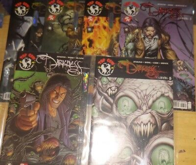 The Darkness : Level Comic Book Lot  (2006) issues 0 thru 5