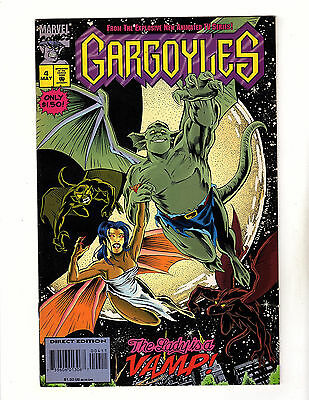 Gargoyles #4 (1995, Marvel) VG/FN Based on the Disney Animated TV Series