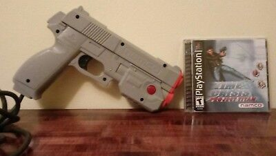 Time Crisis: Project Titan with Gun controller - PS1 PlayStation One - Tested