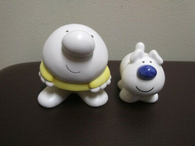 Ziggy and Dog Fuzz Salt and Pepper Shakers vintage great shape.