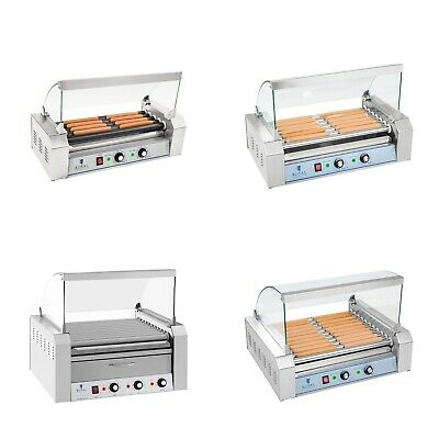 Grill A Hot Dog Professionnel | Inox Ou Teflon 5 - 11 Rouleaux Gastro Express